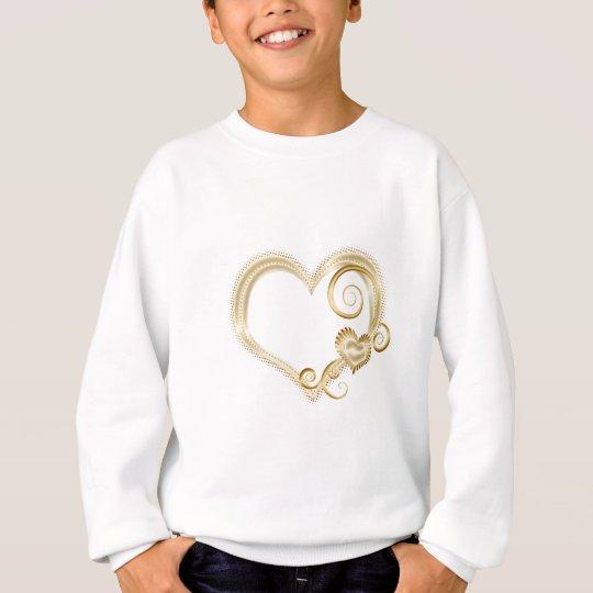 GoldHearts.png Sweatshirt
