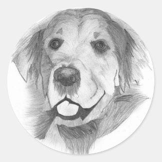 goldie bw 600 classic round sticker