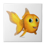 Goldie el Goldfish de Toon Azulejo
