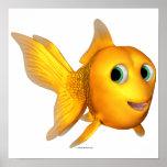 Goldie el Goldfish de Toon Poster
