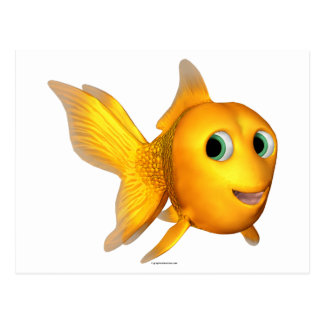 Goldie el Goldfish de Toon Postal