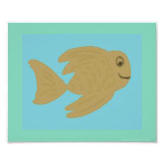 Goldie Fish Photo Print