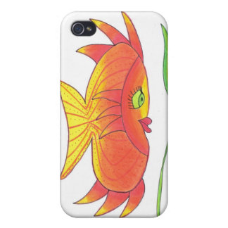 Goldie Goldfish iPhone case iPhone 4/4S Covers