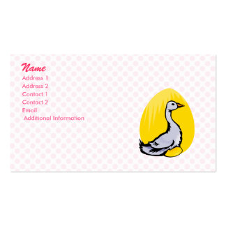 Goldie Goose Business Cards