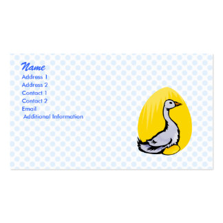 Goldie Goose Business Card Template