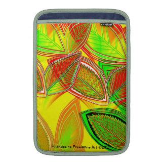Goldie Leaf Designer Mac cover Sleeves For MacBook Air