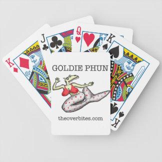 Goldie Phun Overbite Bicycle Playing Cards
