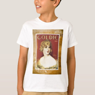 Goldie Song Gold Vintage Sheet Piano Music T-Shirt