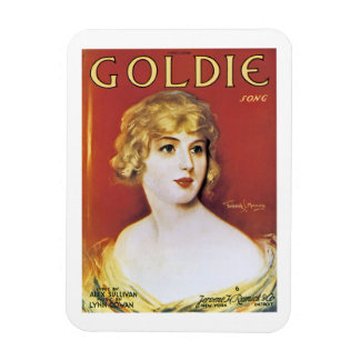 Goldie Song Magnet