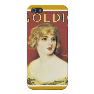 Goldie Song Vintage Song Sheet  iPhone 5 Cases