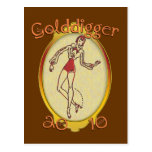Goldiggers de 2010 tarjetas postales