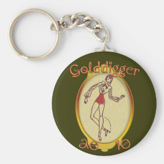 Goldiggers of 2010 keychains