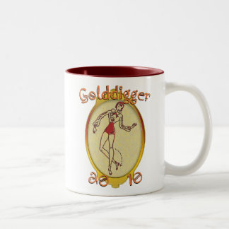 Goldiggers of 2010 Two-Tone coffee mug