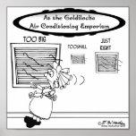Goldilocks Air Conditioning Emporium Poster