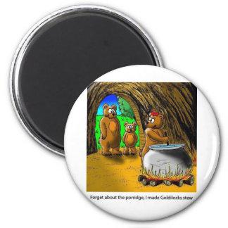 Goldilocks_and_the_3_bears Magnet