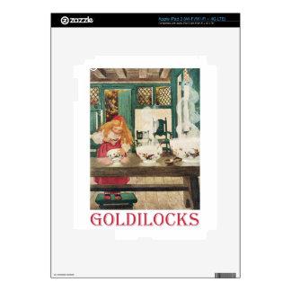 Goldilocks and the Three Bears iPad 3 Skin