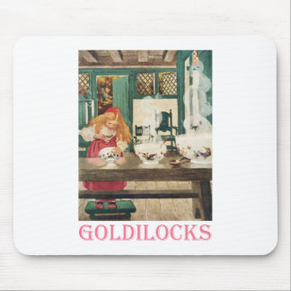 Goldilocks and the Three Bears Mouse Pad