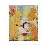 Goldilocks and Three Bears Vintage, Historical art Post Cards