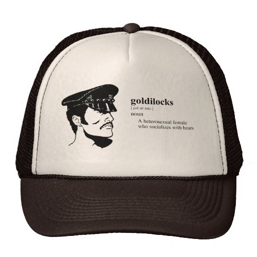 GOLDILOCKS GORRA