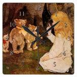 """""""Goldilocks y los tres osos"""" Reloj"""