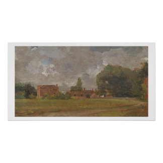 Golding Constable's House, East Bergholt: The Arti Poster