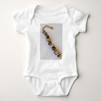 Goldish chain by MelinaWorld Jewellery Baby Bodysuit