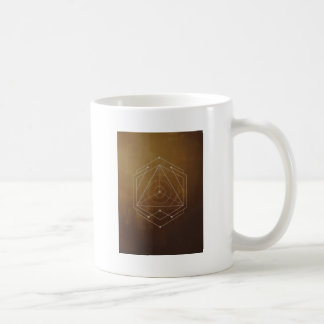 Goldish - mosquito - Geometric Pattern Coffee Mug