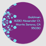 Goldman Custom Seal Classic Round Sticker