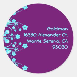 Goldman Custom Seal Round Sticker