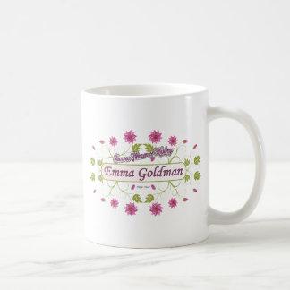 Goldman ~ Emma Goldman Famous USA Women Classic White Coffee Mug