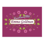 Goldman ~ Emma Goldman Famous USA Women Post Cards