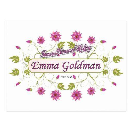Goldman ~ Emma Goldman Famous USA Women Postcards