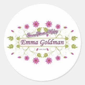 Goldman ~ Emma Goldman Famous USA Women Sticker