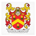 Goldman Family Crest Custom Announcements