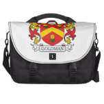 Goldman Family Crest Laptop Commuter Bag