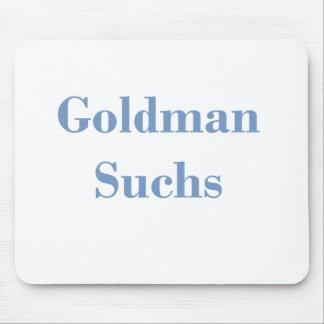 Goldman Suchs Text Mouse Pad