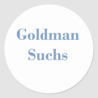 Goldman Suchs Text Stickers