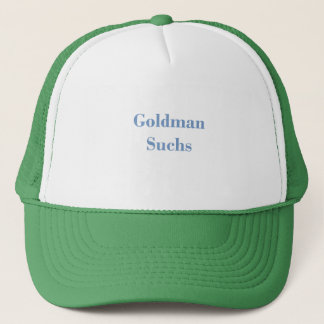 Goldman Suchs Text Trucker Hat
