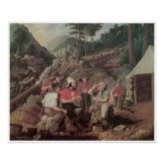 Goldminers, 1858 póster