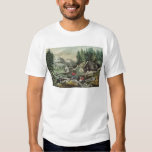 Goldmining in California, 1871 T-shirt