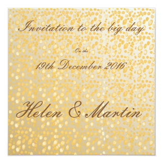 Golds/creams/beige's invitation card