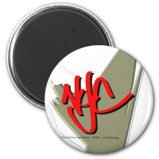 Goldshoepolish - NYC - ropa Imán