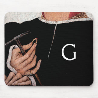 GOLDSMITH,PRECIOUS METALWORKER,GOLD JEWELRY ART MOUSE PAD