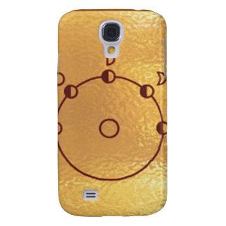 GoldStar, Star, Orbit, Robot : Joshino Gozzlo Galaxy S4 Case