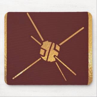 GoldStar, Star, Orbit, Robot : Joshino Gozzlo Mouse Pad