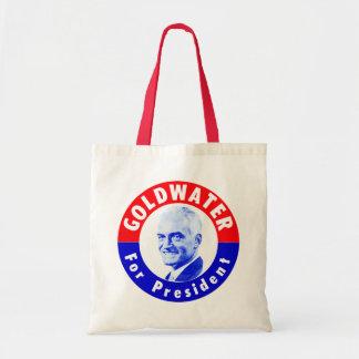 Goldwater 1964 para el presidente bolsa de mano