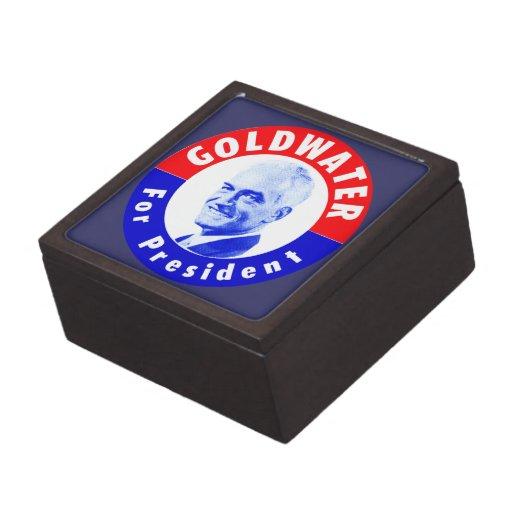 Goldwater 1964 para el presidente cajas de joyas de calidad