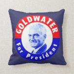 Goldwater 1964 para el presidente cojin