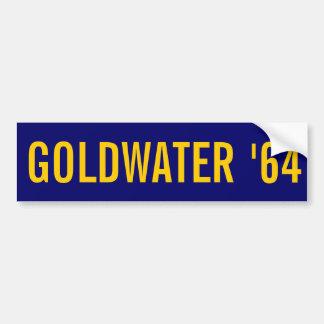 GOLDWATER '64 PEGATINA PARA AUTO