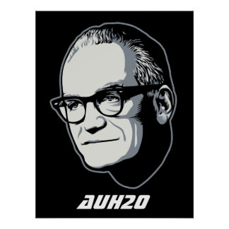 Goldwater AuH2O Customizable Poster